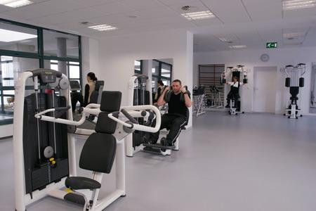 Тренажерный зал реабилитационной урологической клиники Kurpark - Германия - (495)585-92-41