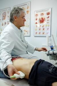 Диагностическое отделение реабилитационной урологической клиники Kurpark - Германия - (495)585-92-41