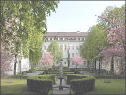 КАРДИОЛОГИЧЕСКИЙ ЦЕНТР - БЕРЛИН - Внутренний дворик Центра