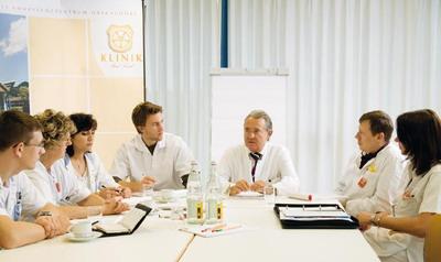 Консилиум специалистов онкологического центра Бад-Триссль
